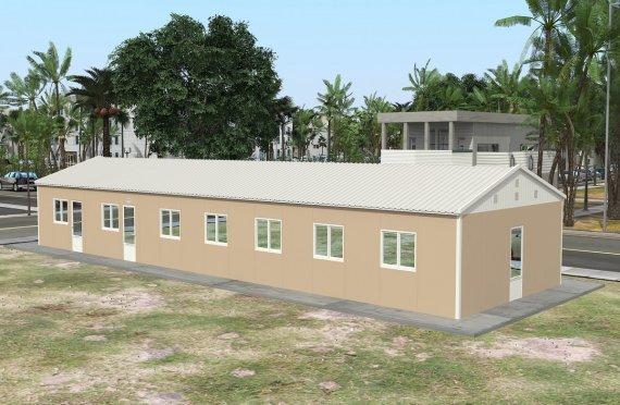 Құрастырмалы Коммерциялық Асхана 139 м²