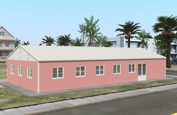 Құрастырмалы Коммерциялық Асхана 170 м²