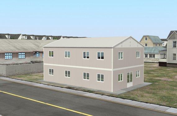 Құрастырмалы Коммерциялық Асхана 250 м²