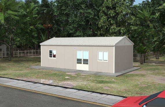 Құрастырмалы Коммерциялық Асхана 53 м²