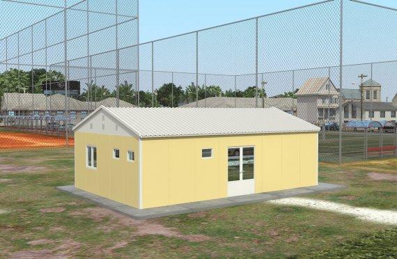Құрастырмалы Коммерциялық Асхана 65 м²