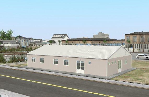 Құрастырмалы Коммерциялық Асхана 217 м²