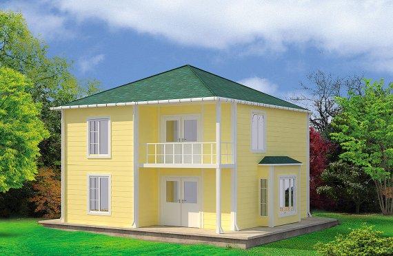Құрастырмалы Үй 124 м²