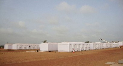 Кармод Сомалидегі 250 адамдық жұмысшы лагерін аяқтады