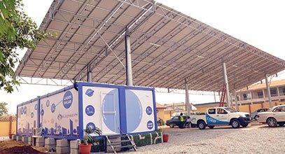 Кармодтың жаңа буын контейнері Нигериядағы күн энергиясын сақтауға арналған