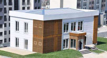 Люкс Құрастырмалы Босфор Қаласы жобасының сату кеңсе Проектісі