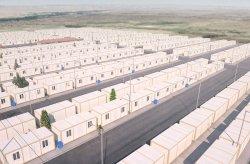 Сириялық босқындар үшін контейнерлік тұрғын үй жобасы