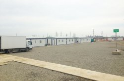Еуропаға тартылған газ құбырының құрылыс орны Кармодт'тан