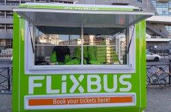 Flixbus'тың билет сату  Кабиналары  Кармод'тан