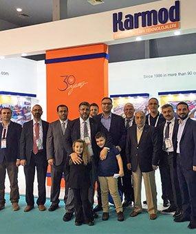 На международной выставке MUSIAD EXPO Кармод