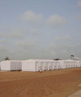 В Сенегале завершился монтаж модульных административных кабин
