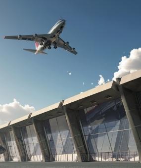 Строительства здания 3-го аэропорта завершены Кармодом