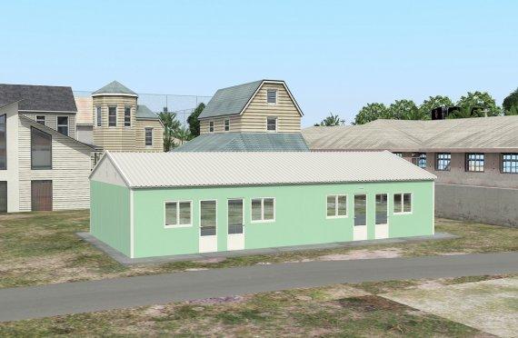 117 м² Общежитие быстровозводимое