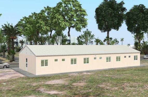 204 м² Общежитие быстровозводимое