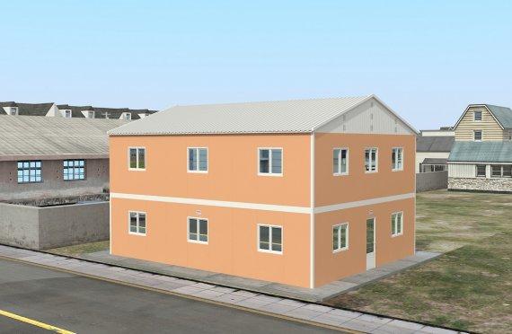 206 м² Общежитие быстровозводимое