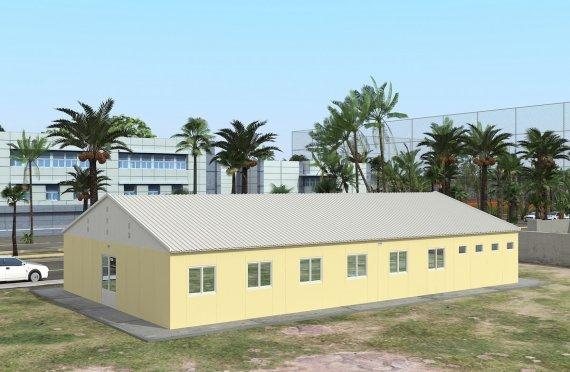 232 м² Общежитие быстровозводимое