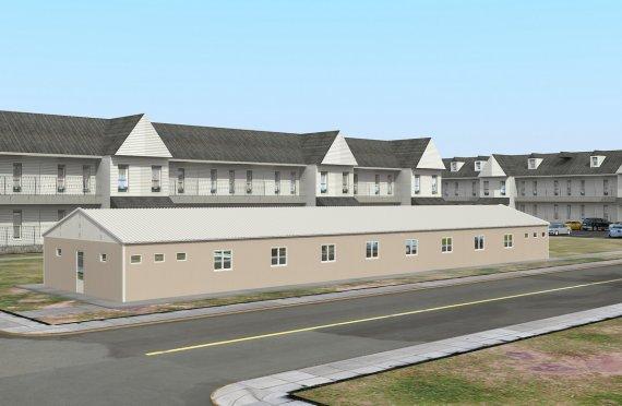 339 м² Общежитие быстровозводимое