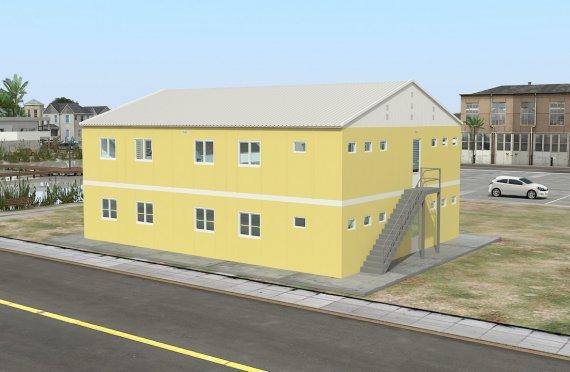 348 м² Общежитие быстровозводимое