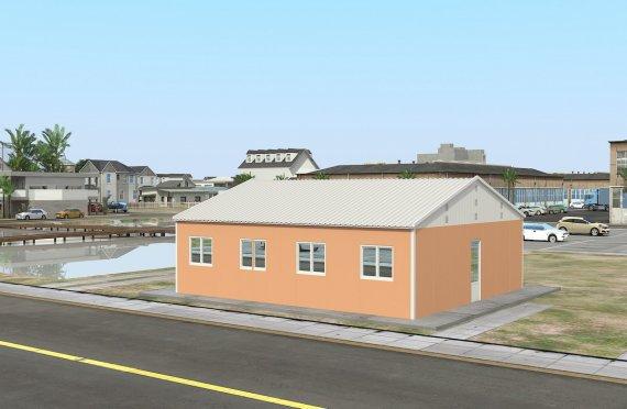 91 м² Общежитие быстровозводимое