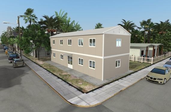 214 м² Офисы Быстровозводимые