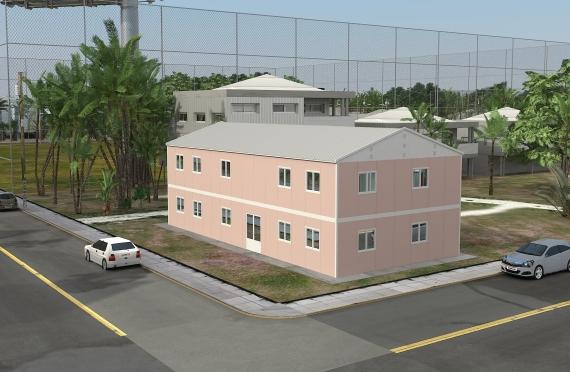 340 м² Офисы Быстровозводимые