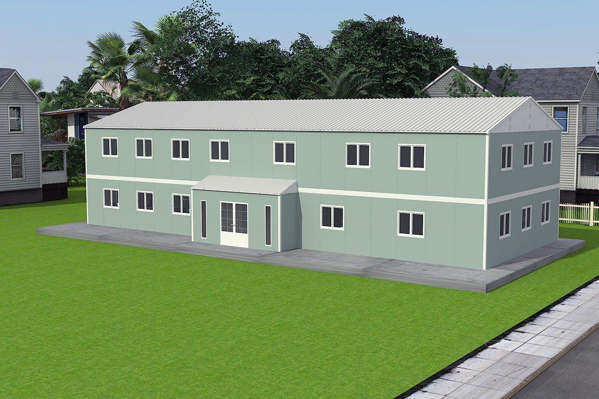 415 м² Офисы Быстровозводимые