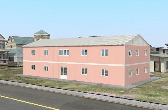 Модульная школа 480 м²