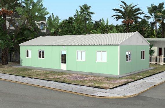 Модульная школа 117 м²