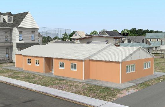 Модульная школа 272 м²