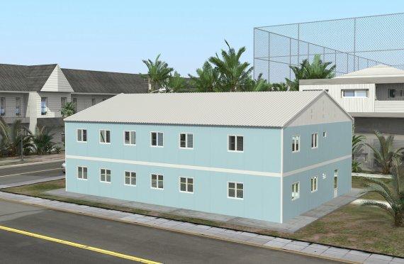 Модульная больница 506 м²