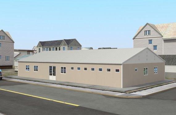 Модульная клиника 275 м²