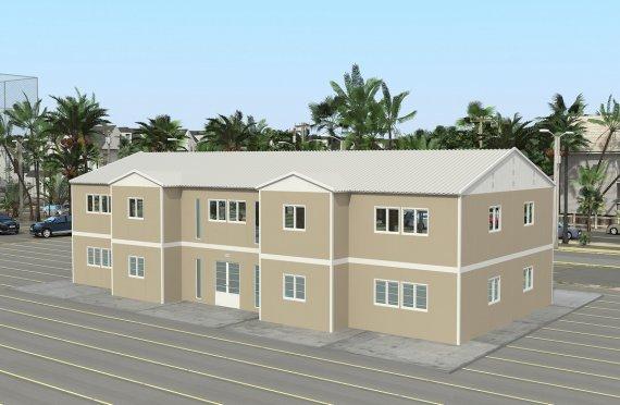 Модульная поликлиника 576 м²