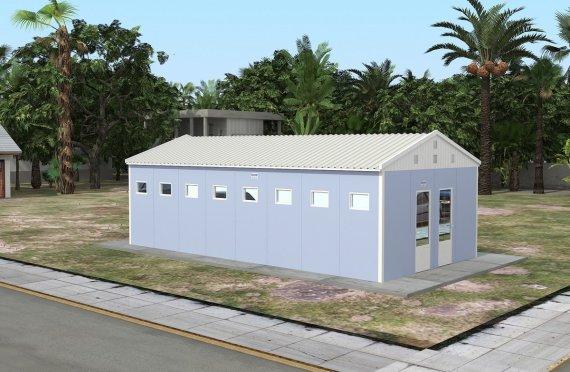 52 м² Туалеты и душевые быстровозводимые