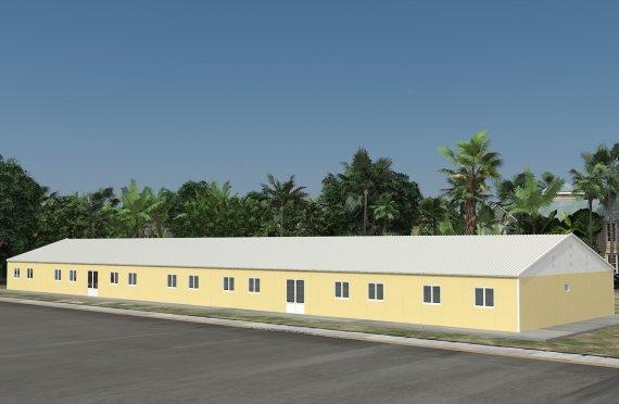 Модульная школа 681 м²