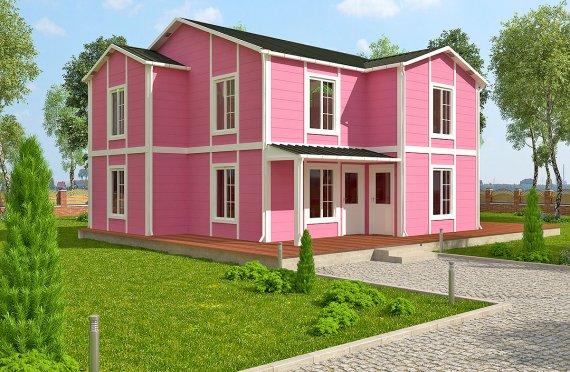 Сборные дома 147 m²