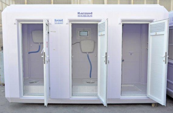150x390 Туалетные и душевые модули