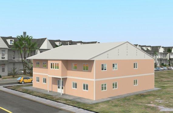 Модульная школа 594 м²