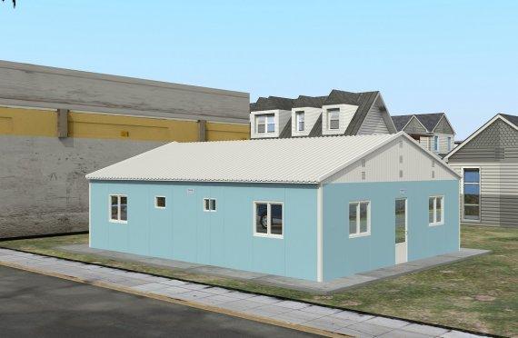 102 м² Общежитие быстровозводимое