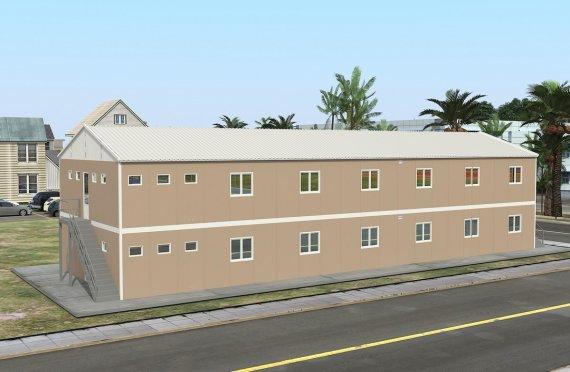 474 м² Общежитие быстровозводимое
