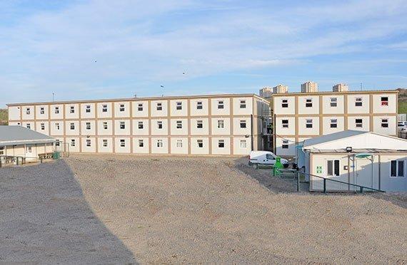 Модульные здания контейнеры