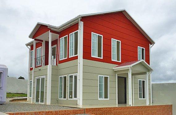 Проекты двухэтажных домов и коттеджей