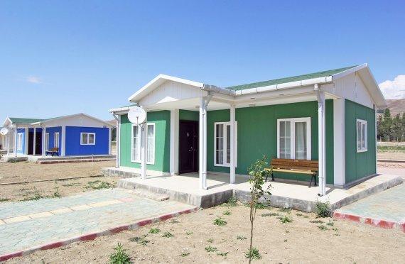 Временное жилье для беженцев