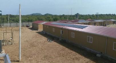 Кармод завершил военные объекты в Нигерии