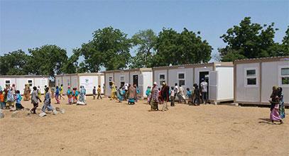 Нигерийский мобильный класс и школьный проект
