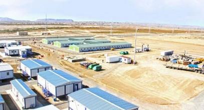 Сборные строительные конструкции для проекта «Шахдениз-2» в Азербайджане