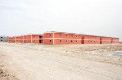 Кармод построил сборный городок для 10 000 человек за 7 месяцев
