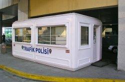 Будка охраны в Казахстане